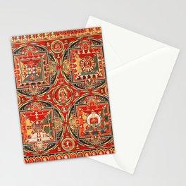 Mandala Buddhist 3 Stationery Cards