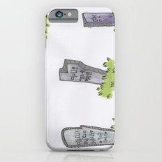 gravestones iPhone 6s Slim Case