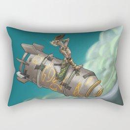 Bombs Away Rectangular Pillow