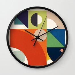 Roud Flow No. 1 Wall Clock
