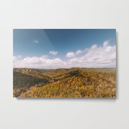 View of Red River Gorge, Kentucky Metal Print