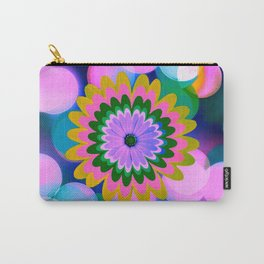 Bokeh Bloom Carry-All Pouch