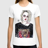 sky ferreira T-shirts featuring SKY FERREIRA NO,17 by Lucas David