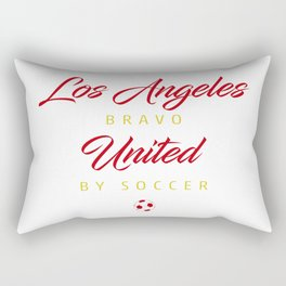Los Angeles Bravo Rectangular Pillow