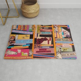 Dog Books With A Difference Rug