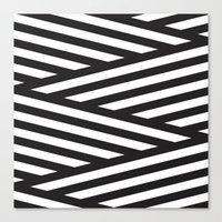 stripes Canvas Prints featuring Stripes by Dizzy Moments