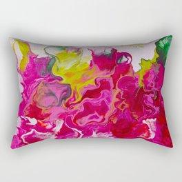 Inviting iris Rectangular Pillow