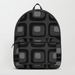 60s Grayscale Mod Backpack