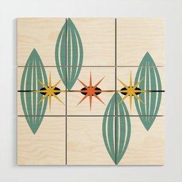 Mid-Century Modern Art 1.5 Wood Wall Art