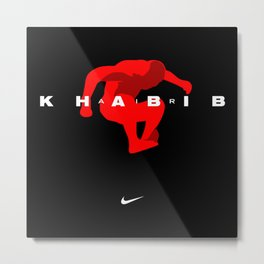 Khabib Air Metal Print