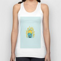gumball Tank Tops featuring SSJ Gumball by Miles Cameron