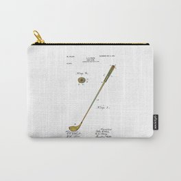 Golf Club Patent - Circa 1903 Carry-All Pouch