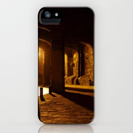 Mexican Tunnels in Sulphur Light iPhone Case