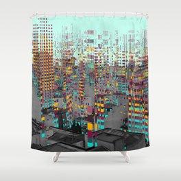 Fragment V Shower Curtain