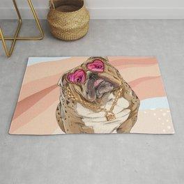 Fashion Bulldog Rug