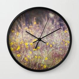 Morning Kisses Wall Clock