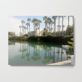 California beach Metal Print
