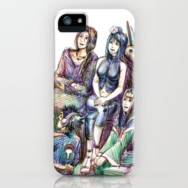 How to become a village hero iPhone Case