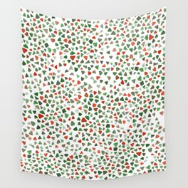 Christmas color palette Wall Tapestry