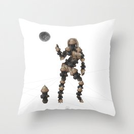 Sexy pump 2 Throw Pillow
