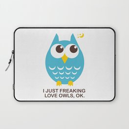 I love Owls Laptop Sleeve