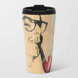 Musician Guitar and pipe Travel Mug