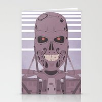 terminator Stationery Cards featuring Terminator  by avoid peril