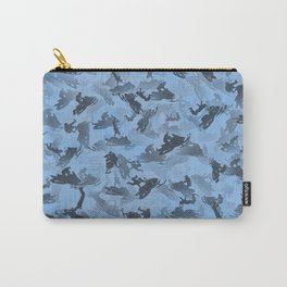 Snowmobile camouflage Carry-All Pouch