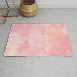 Rose Marble Watercolor #marble #watercolor #artwork #rose #blush #kirovair #homedecor #abstractart Rug