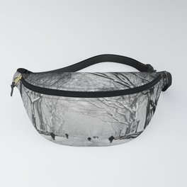 Snow in Central Park Fanny Pack