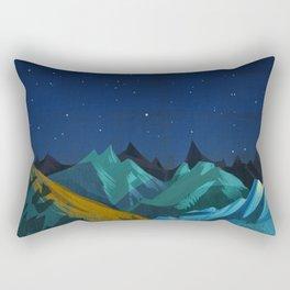 Blue Mountains Rectangular Pillow