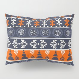 Boho Geometric Pattern Pillow Sham