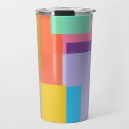 Color Tangles Travel Mug
