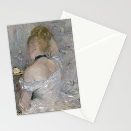 Woman at Her Toilette by Berthe Morisot Stationery Cards