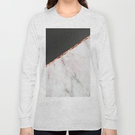Marble fashion texture Long Sleeve T-shirt