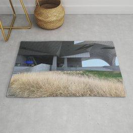 Grass and concrete Rug