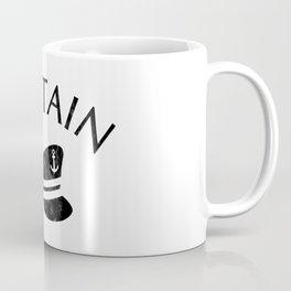 CAPTAIN HAT WITH ANCOR USED LOOK Coffee Mug