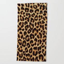 ReAL LeOparD Beach Towel