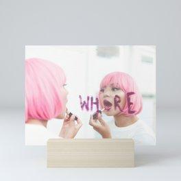 whore Mini Art Print