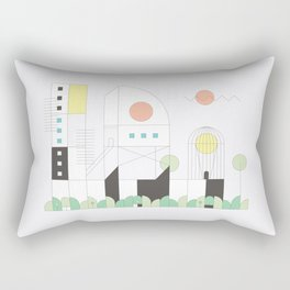Forma 4 by Taylor Hale Rectangular Pillow