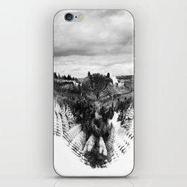 Owl Mid Flight iPhone Skin