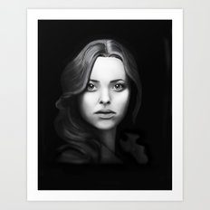 Fashion Illustration - Cosette Art Print