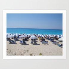 Greece - Lefkada Art Print
