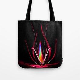 Abstract perfektion - Lightshow Tote Bag