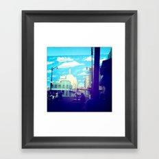 California Disney Framed Art Print