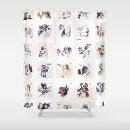 Collection Portrait ~ Los Caprichos Shower Curtain