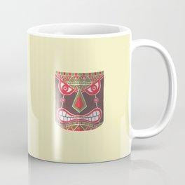 The Polynesian Mask Coffee Mug