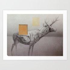 Cervidae 1 Art Print