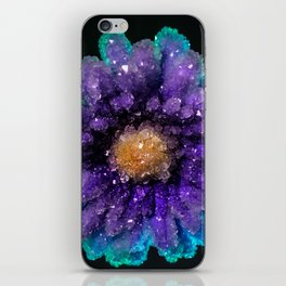 Crystalized Flowers iPhone Skin