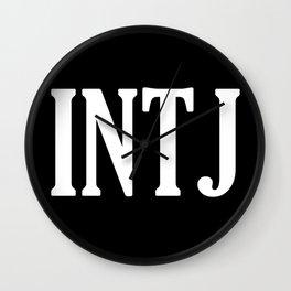 INTJ Wall Clock